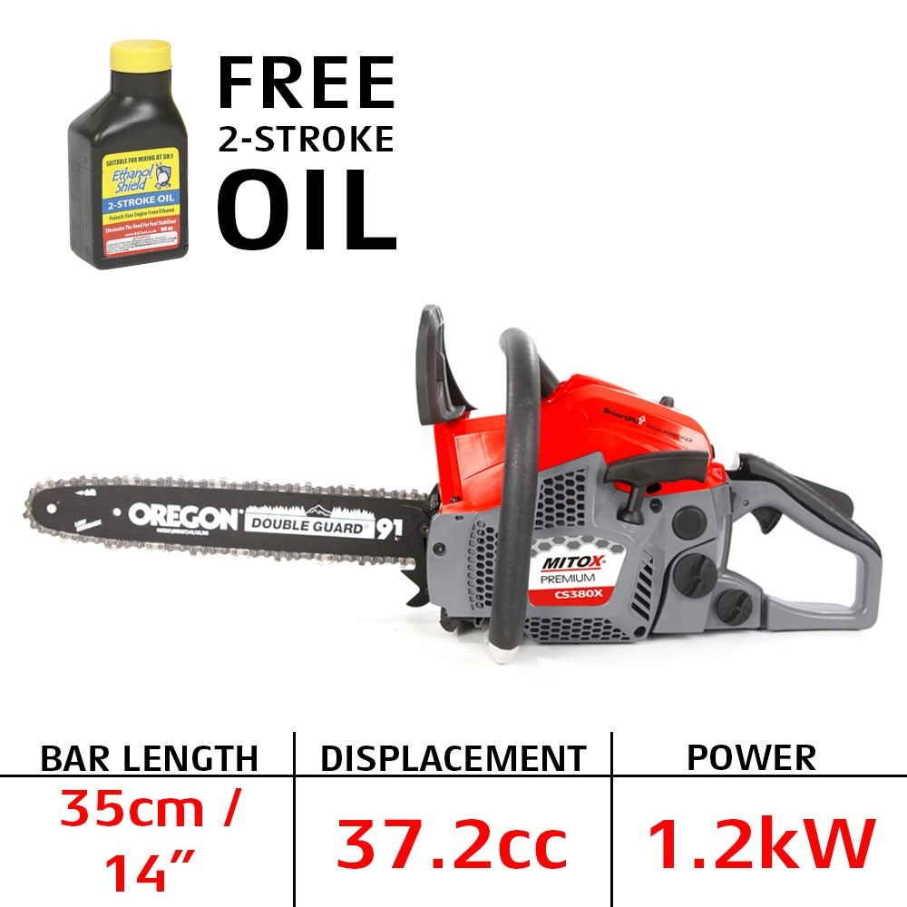 Petrol chain saw - overview, features, types and reviews. Popular models 52