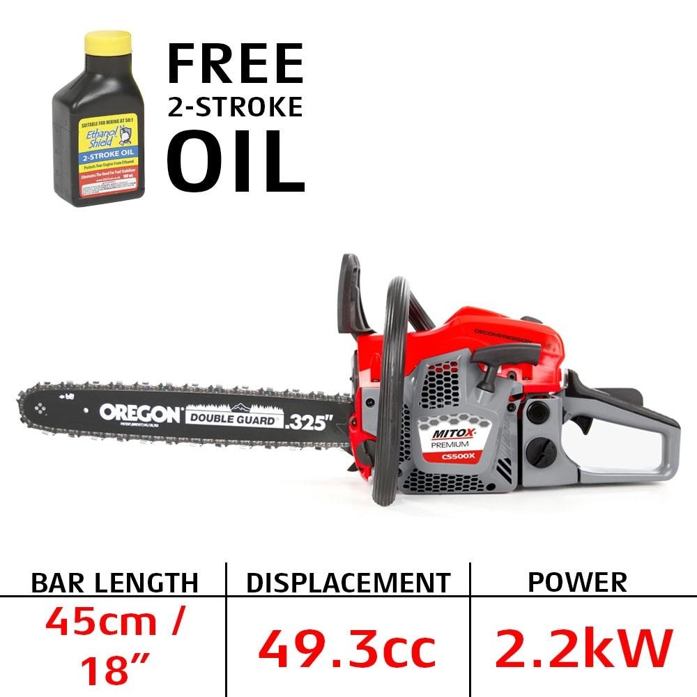 Mitox CS500X Petrol Chainsaw