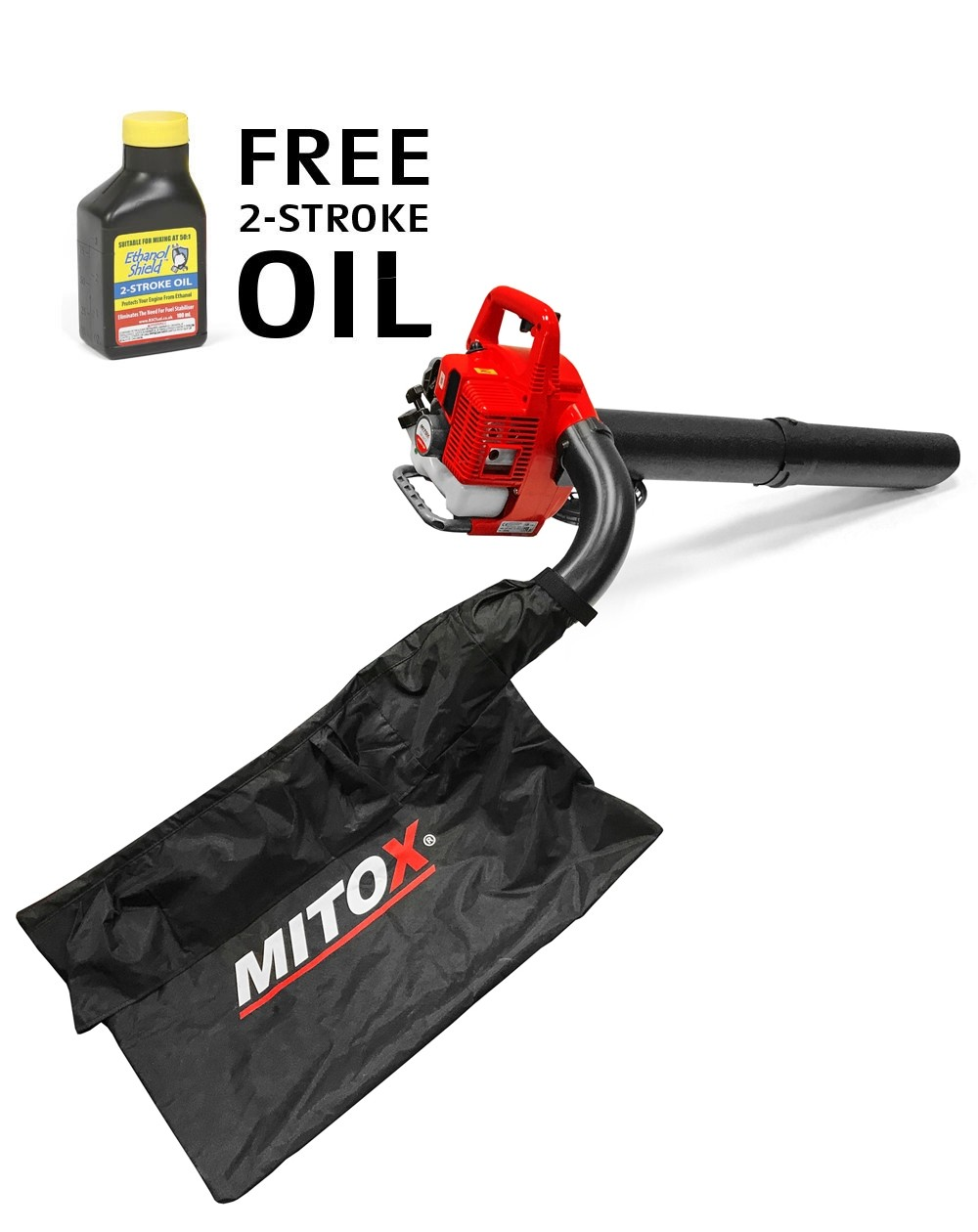 Mitox 28BV-SP Petrol Leaf Blower / Vacuum