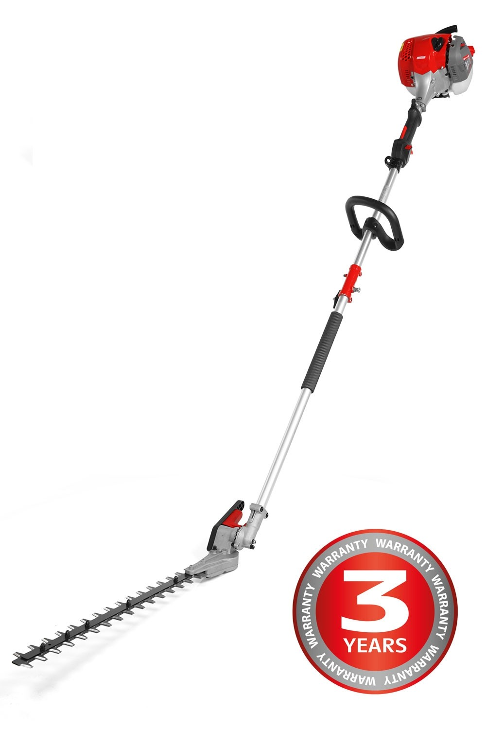Mitox 28LH Long reach petrol hedge trimmer