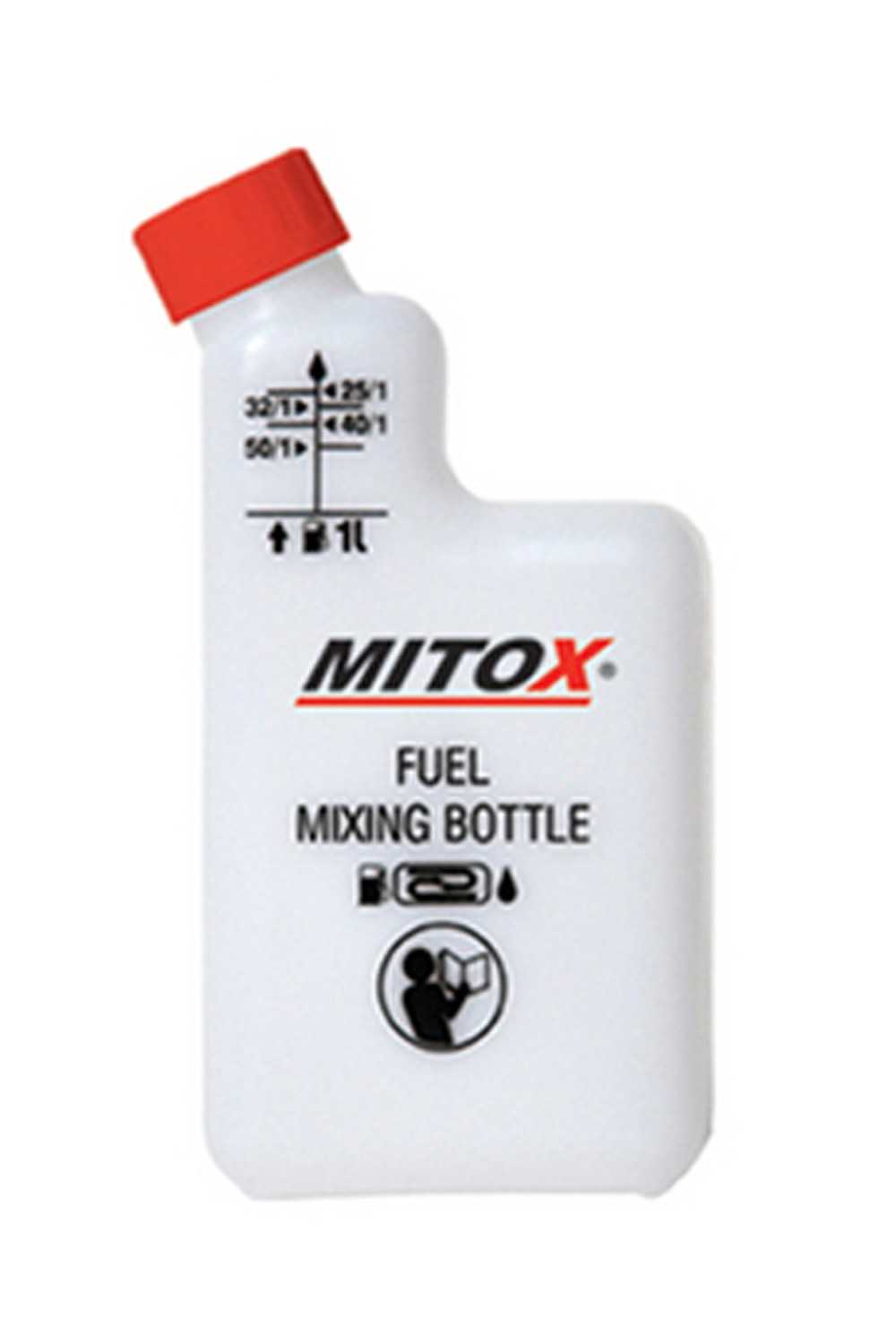 Mitox 2-Stroke Fuel Mixing Bottle
