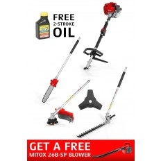 Mitox 26MT-SP Select Petrol Multi-Tool + FREE 26B-SP BLOWER