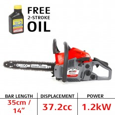 Mitox CS380X premium petrol chainsaw