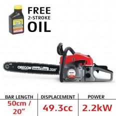 Mitox CS50 Petrol chainsaw 20in bar