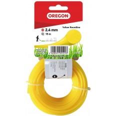 Oregon 2.4mm x 15m Yellow Roundline