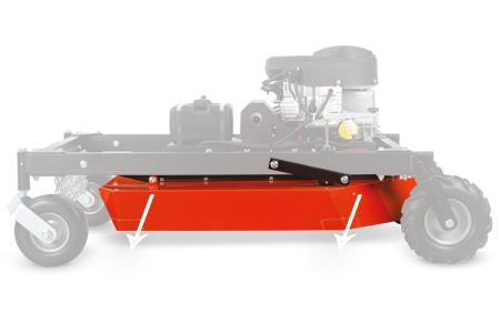 DR Field & Brush Mower deck