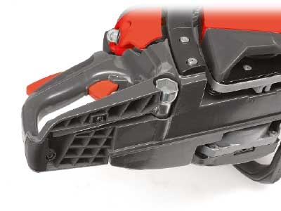 Mitox Chainsaw Wide rear handle and tool