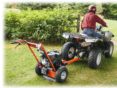 DR Tow Stump Grinder Tow Kit