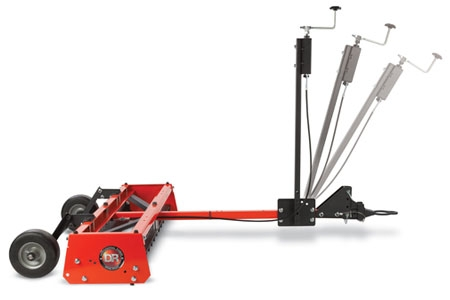 DR Power Grader Adjustable Controls