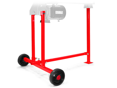 Optional log splitter stand
