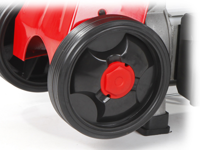 Mitox log splitter transport wheels