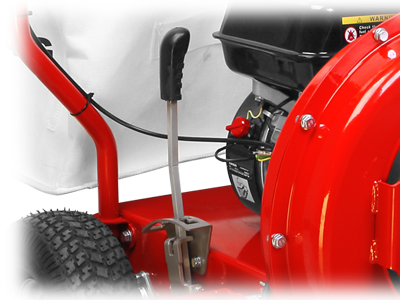 Weibang leaf and litter vac height adjustment